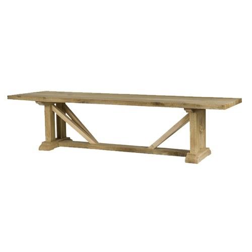 比利時Sempre 雙V桁架柚木戶外桌