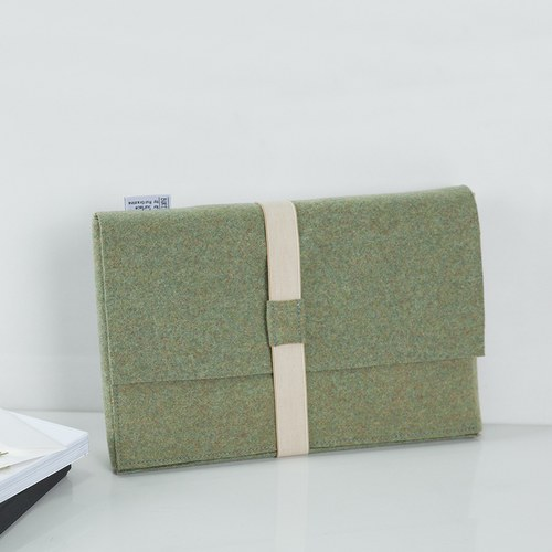 葡萄牙BUREL 筆記本款平板保護包 (綠)