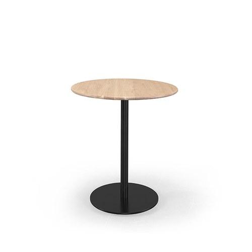 葡萄牙WEWOOD BISTRO圓形簡約咖啡桌 (橡木)