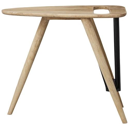 丹麥Lene Bjerre 三角造型雜誌收納邊桌