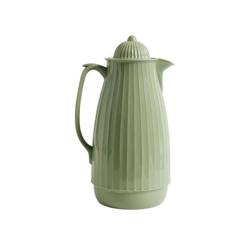 丹麥Nordal 多立克柱式保溫咖啡壺 (綠)