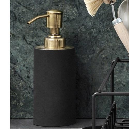 丹麥Nordal 質感黑金洗手乳罐