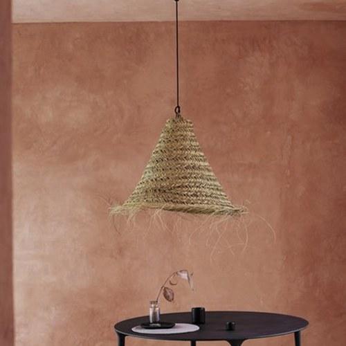 丹麥tineKhome V字造型編織燈罩 (直徑70公分)