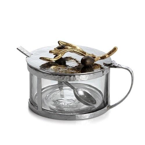 美國MichaelAram 橄欖枝系列調味罐附湯匙