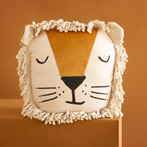 西班牙Nobodinoz 晚安! 獅子先生玩偶靠枕