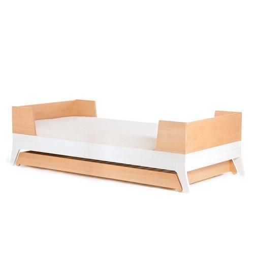 西班牙Nobodinoz 簡約原木單人子母床