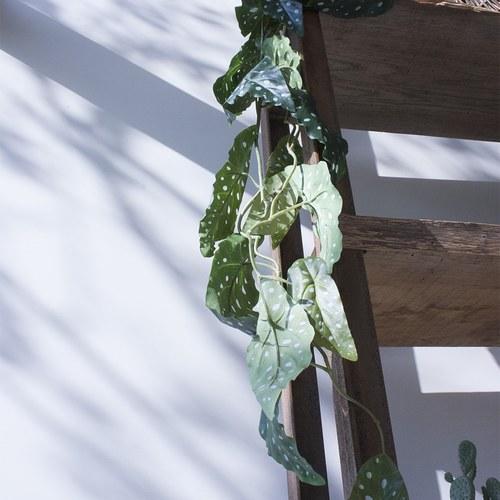 荷蘭Emerald人造植物 銀星秋海棠(120公分)