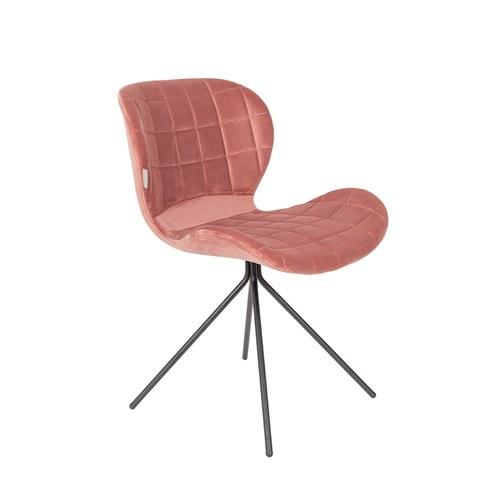 荷蘭Zuiver OMG!時尚玩色單椅(復古粉)