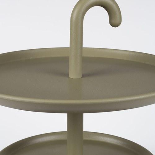 荷蘭Zuiver 小陽傘晴雨天邊桌(綠)