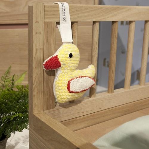 荷蘭ACP 黃色小鴨搖鈴玩具