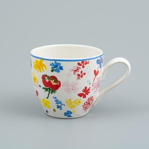 荷蘭FloraCastle 繽紛花朵圖紋咖啡杯 (250毫升)