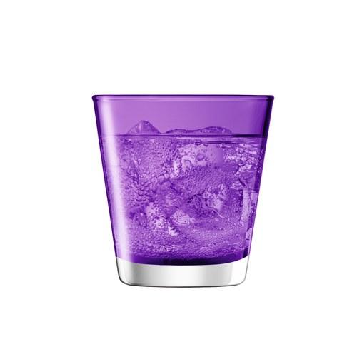 英國LSA 艷彩透底廣口玻璃杯 (紫羅蘭)