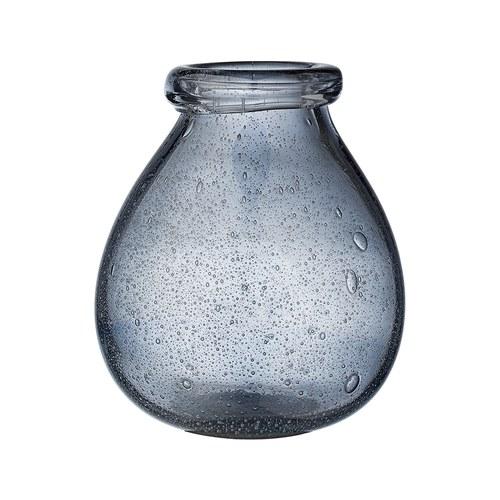 丹麥LeneBjerre 神秘海洋手工玻璃花器 (藍)