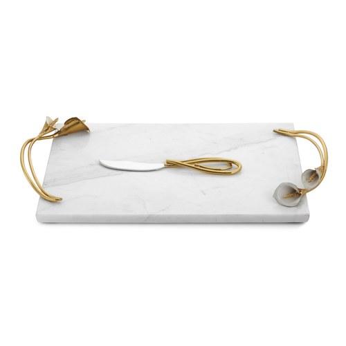美國Michael Aram工藝飾品 幸福海芋系列起司板 (長45.7公分)