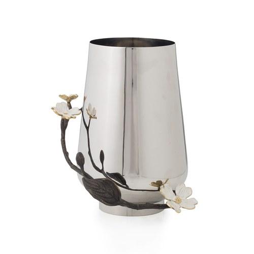 美國MichaelAram工藝飾品 山茱萸系列花器 (高21.6公分)