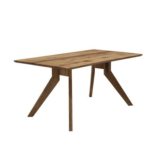 義大利OliverB 三角洲平原實木餐廳餐桌 (長160公分)