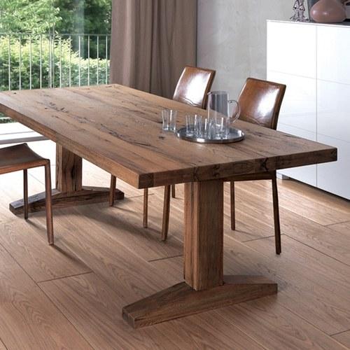 義大利OliverB 奧斯陸實木餐廳餐桌 (長160公分)