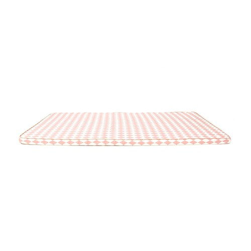 西班牙Nobodinoz有機棉 兒童遊戲爬行地墊 (幾何方塊粉)