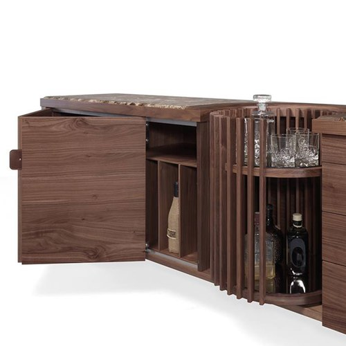 葡萄牙WEWOOD 大理石酒器收納櫃