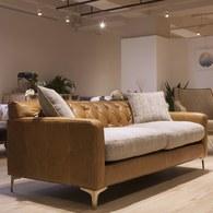 英國Alexander&James 經典閣樓三人座皮革沙發