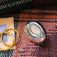 英國Carrs銀器 珍藏彌月禮-髮束紀念盒