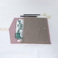 葡萄牙BUREL 信封式平板保護套 (粉、長26公分)