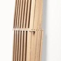 葡萄牙WEWOOD 方形摩登雙併書架 (橡木)