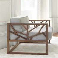 葡萄牙WEWOOD 枝枒狀造型扶手椅 (橡木)