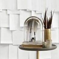 丹麥LeneBjerre 墨黑漸層橢圓玻璃罩 (寬28.5公分)