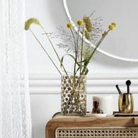 丹麥Nordal 金黃圓點裝飾花器 (高20公分)