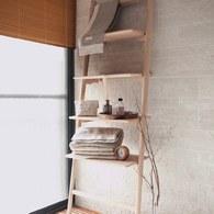 丹麥Sketch 北歐風靠牆梯 (橡木)