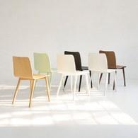 丹麥Sketch 簡約木作L型單椅 (薄荷綠)