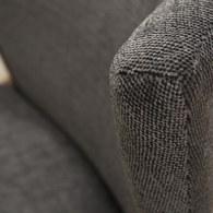 丹麥Sketch 圓弧包覆靠背布面單椅 (鋼鐵灰)