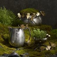 美國Michael Aram工藝飾品 銀杏蝴蝶系列滅燭器