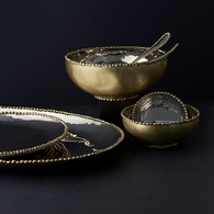美國Michael Aram工藝飾品 熔岩系列堅果點心碗