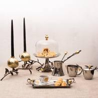 美國MichaelAram工藝飾品 鮮嫩石榴系列蛋糕架