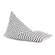 西班牙Nobodinoz 大金字塔群懶骨頭 (鋸齒線條黑)