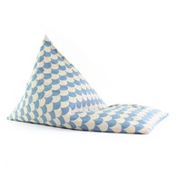 西班牙Nobodinoz 大金字塔群懶骨頭 (藍色繽紛樂)