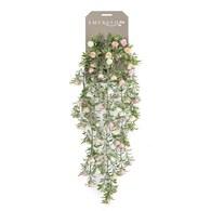 荷蘭Emerald人造植物 垂懸迷你玫瑰灌木