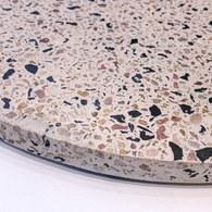 荷蘭HkLiving 漾彩水磨石托盤(直徑30公分)