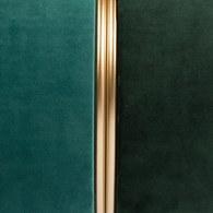 荷蘭Zuiver 輕奢糖果色絨布金屬拉環腳凳(森林綠)