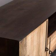 荷蘭Zuiver 工業風黑鐵配件電視櫃