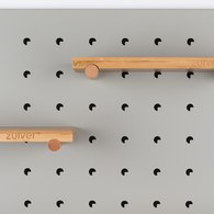 荷蘭Zuiver 北歐風收納壁板層架組(灰)