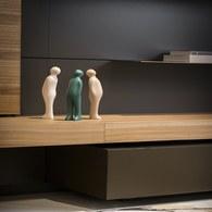 比利時Gardeco藝術擺飾 經典觀賞者 (森林綠、高23公分)
