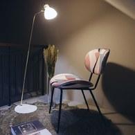 荷蘭HkLiving 粉藍摩登幾何設計單椅
