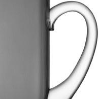 英國LSA 風格高低差玻璃水壺 (深灰)